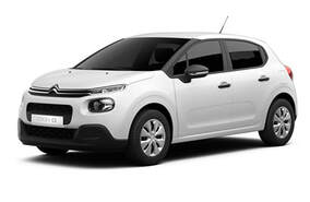 Rent a Car on Crete this is a Citroen C3